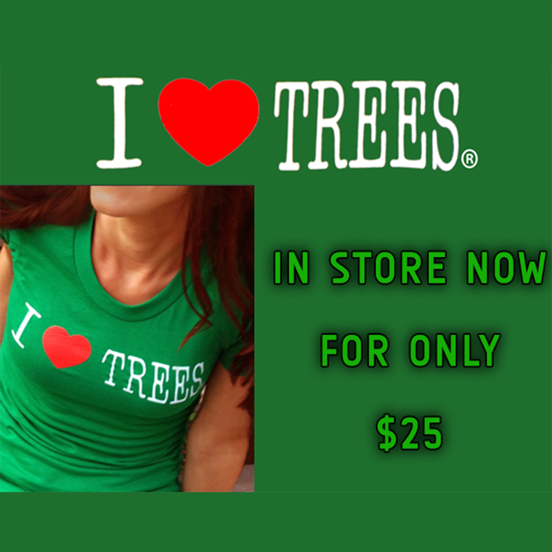 I ❤ Trees Shirt ( I Heart Trees)